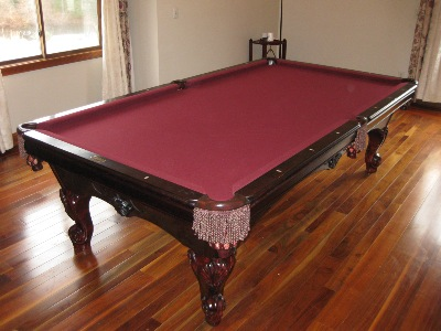 Your Local Pool Table Guy Inc - Simonis pool table felt colors