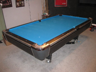 Your Local Pool Table Guy Inc - Electric blue pool table